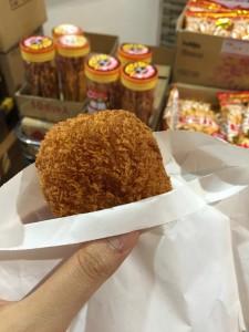 Komachiトラベル:近江町市場の肉コロッケ2