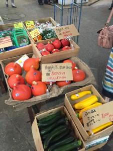 Komachiトラベル:近江町市場の野菜