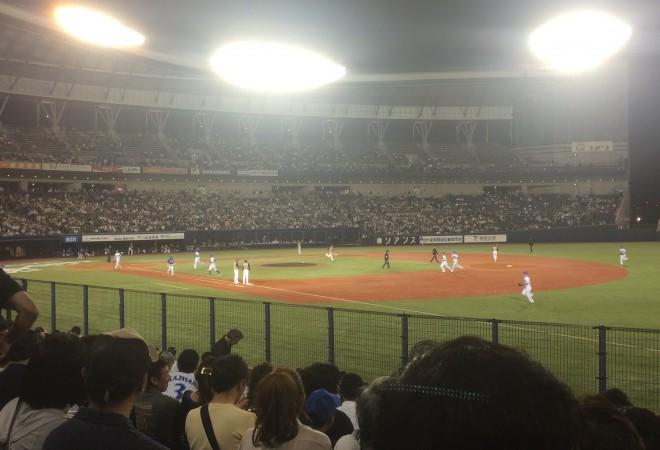 【イベントレポート】初めてのプロ野球観戦に行ってきました