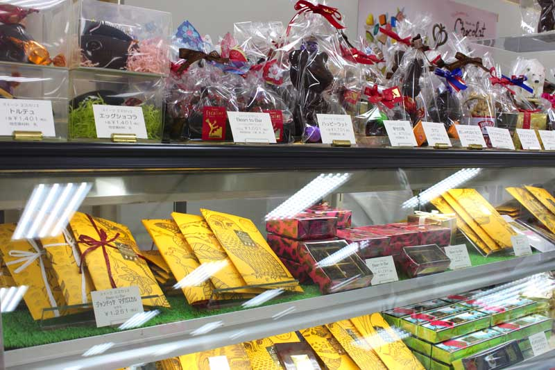 Bean to Barチョコレートでおなじみ新潟市東区の「エスカリエ」